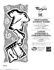Whirlpool Duet sport WFW8300SW00 Manuals