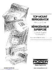Roper RT12VKXKQ00 Manuals