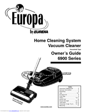 Eureka Europa 6900 Series Manuals