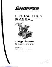 Snapper L1428E Manuals