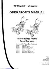 Simplicity 1695302 Manuals