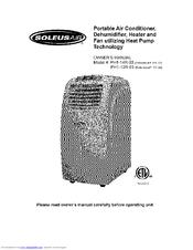 Soleus Air PH1-12R-03 Manuals
