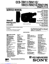 Sony CCD-TRV11E Manuals