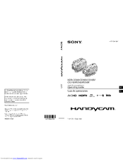 Sony Handycam HDR-XR350 Manuals