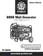 Steele Products SP-GG600 Manuals