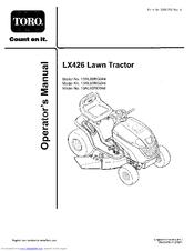 Toro 13RL60RG044 Manuals