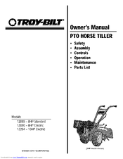 Troy-bilt 12089 Manuals