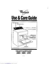 Whirlpool LG6881XTW1 Manuals