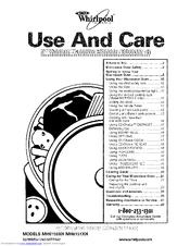 Whirlpool MH6150XHQ1 Manuals