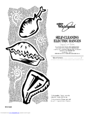 Whirlpool GY396LXPT00 Manuals