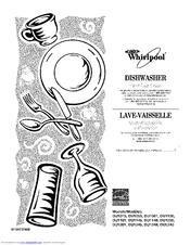 Whirlpool DU1055XTSB2 Manuals