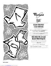 Whirlpool WGD9200SQ1 Manuals