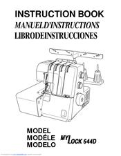Janome mylock 644d manual