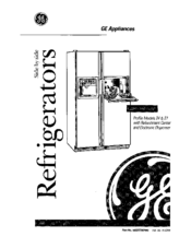 Ge TFX27 Manuals