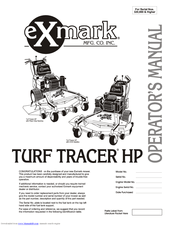 Exmark Turf Tracer HP TT5217KAC Manuals