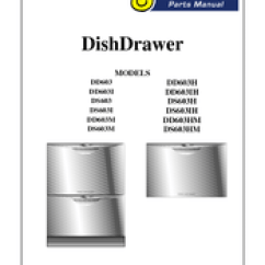 Fisher Paykel Dishwasher Parts Diagram Soccer Field Positions & Dishdrawer Dd603m Manuals