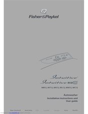 Fisher & Paykel Intuitive ECO IWL12 Manuals