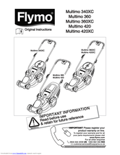 Flymo MULTIMO 360XC Manuals