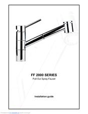 Franke FF-2000 Series Manuals