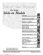 Frigidaire Gas Range Manuals