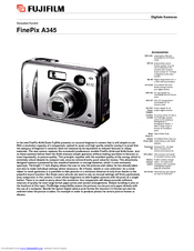 Fujifilm FinePix A345 Manuals