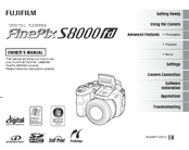 Fujifilm FinePix S8000FD Manuals