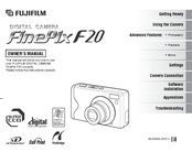 Fujifilm FinePix F20 Manuals