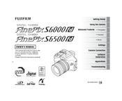 Fujifilm FinePix S6000fd Manuals