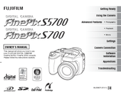 Fujifilm FinePix S5800 Manuals