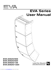 Electro-voice EVA-2082S/920 Manuals