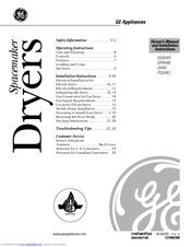 Ge Spacemaker DSXH43 Manuals