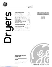 Ge Spacemaker DSKP333ECWW Manuals