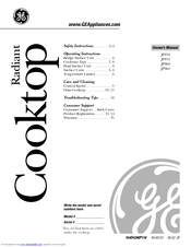 Ge JP930 Manuals