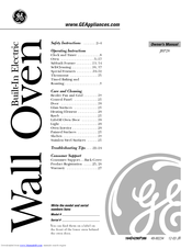 Ge JRS06 Manuals