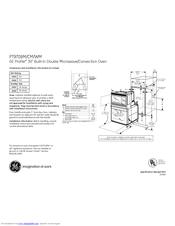 Ge Profile PT970 Manuals