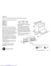 Ge JBS07SPSA Manuals