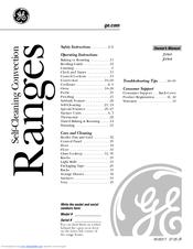 Ge Profile JS968 Manuals