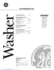 Ge WWSE3160 Manuals