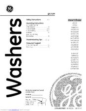 Ge WCSR2090 Manuals