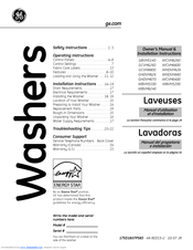 Ge WBVH6240FWW Manuals