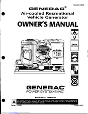 Generac Power Systems NP-50G Series Manuals