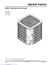 Goodman GSZ11 Manuals