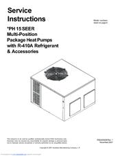 Goodman R-410A Manuals