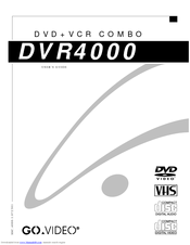 Govideo DVR4000 Manuals