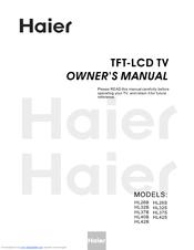Haier HL26BG Manuals