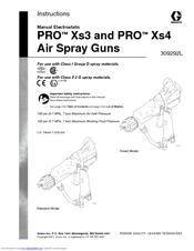 Graco PRO Xs3 Manuals