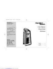 Hamilton Beach 76607C Manuals
