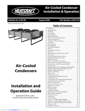 Heatcraft Refrigeration Products Air-Cooled Condensers