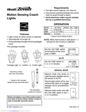 heath zenith motion light manual decoratingspecial com