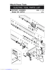 Hitachi DH 24PC3 Manuals